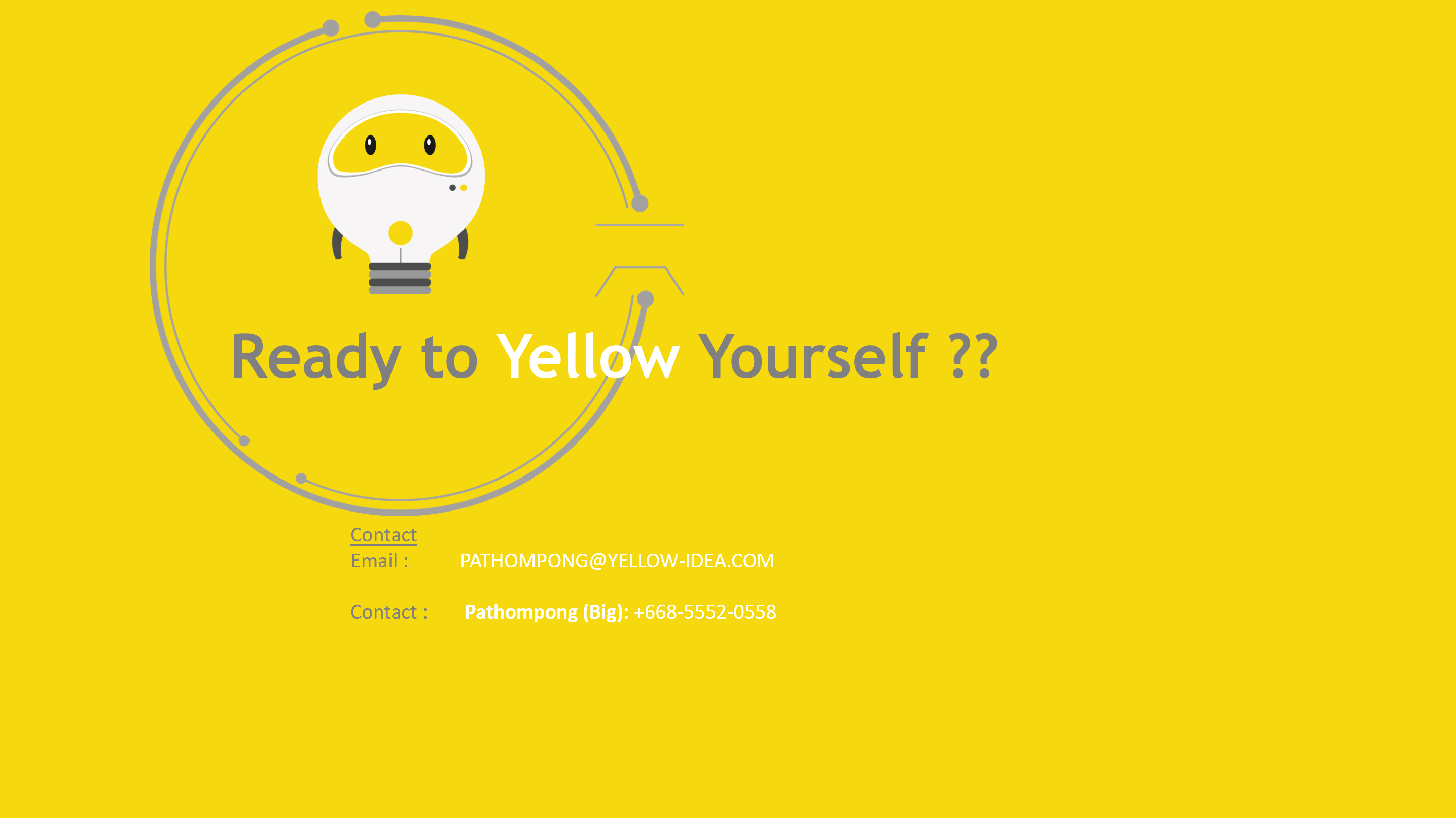 Yellow Idea Contact